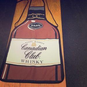 Rare Canadian club whisky apron
